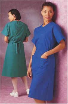 Ladies Medical Scrub Dress By Landau Uniforms
