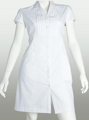 Classic White Dress by Barco Medical uniforms